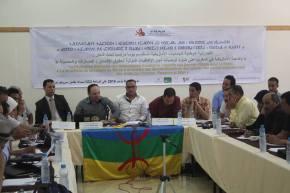 مقابلة مع الفدرالية الوطنية للجمعيات الأمازيغية يتحدث فيها فريق المشروع عن تجربتهم في العمل مع حملة لمناصرة اللغةالأمازيغية